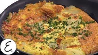 Potato And Chorizo Sausage Omelet - Emeril Lagasse