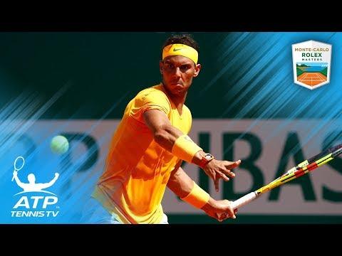 Nadal Sets a Record and Nishikori Sets a Final | Monte-Carlo 2018 Semi-Final Highlights