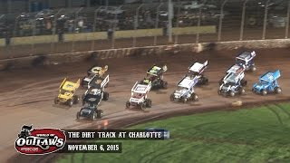 WoO Sprint Cars | The Dirt Track at Charlotte Motor Speedway