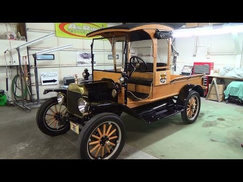 1915 Ford Model T Pickup Classic Restorations Of Southern Indiana