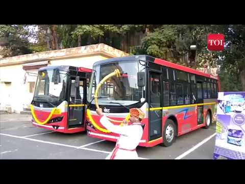BEST (Bombay Transport ) launches pollution-free electric buses