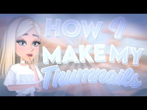 How I Make My Thumbnails! // MSP