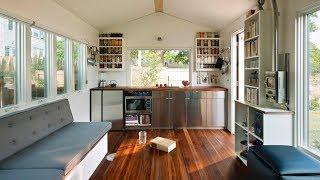 Beautiful Sleek One Level Minim House By Minim Homes | Living Design For A Tiny House