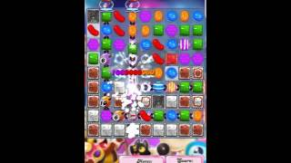 Candy Crush Saga Level 1407 No Booster with tips