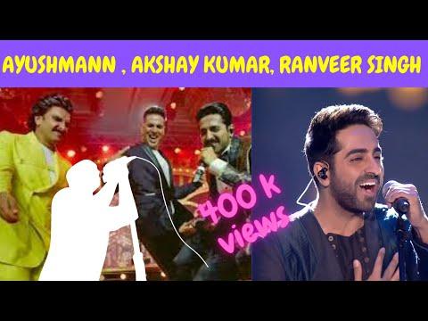 Must Watch: Akshay, Ranveer, Ayushmann & Aparshakti Set Stage On Fire| ayushmann unplugged|| Mp3