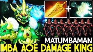 MATUMBAMAN [Wraith King] TOP Immortal Carry Imba AOE Damage 7.22 Dota 2