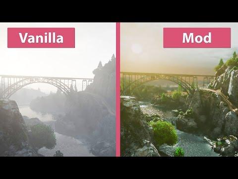 GTA 5 / Grand Theft Auto V – Project RELOAD Mod vs. Vanilla Graphics Comparison