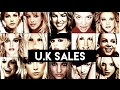 Britney Spears UK Singles and Album Sales
