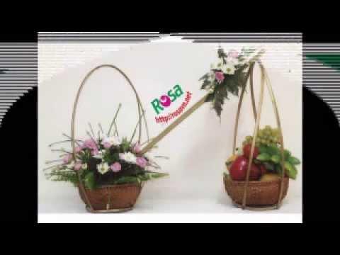 Học Cắm Hoa - các kiểu hoa Á Đông - rosavn.net
