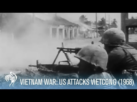 Vietnam War: U.S. Soldiers Stage Assault Against Vietcong (1968) | War Archives