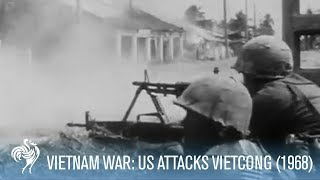 Vietnam War: US Troops Stage Assault