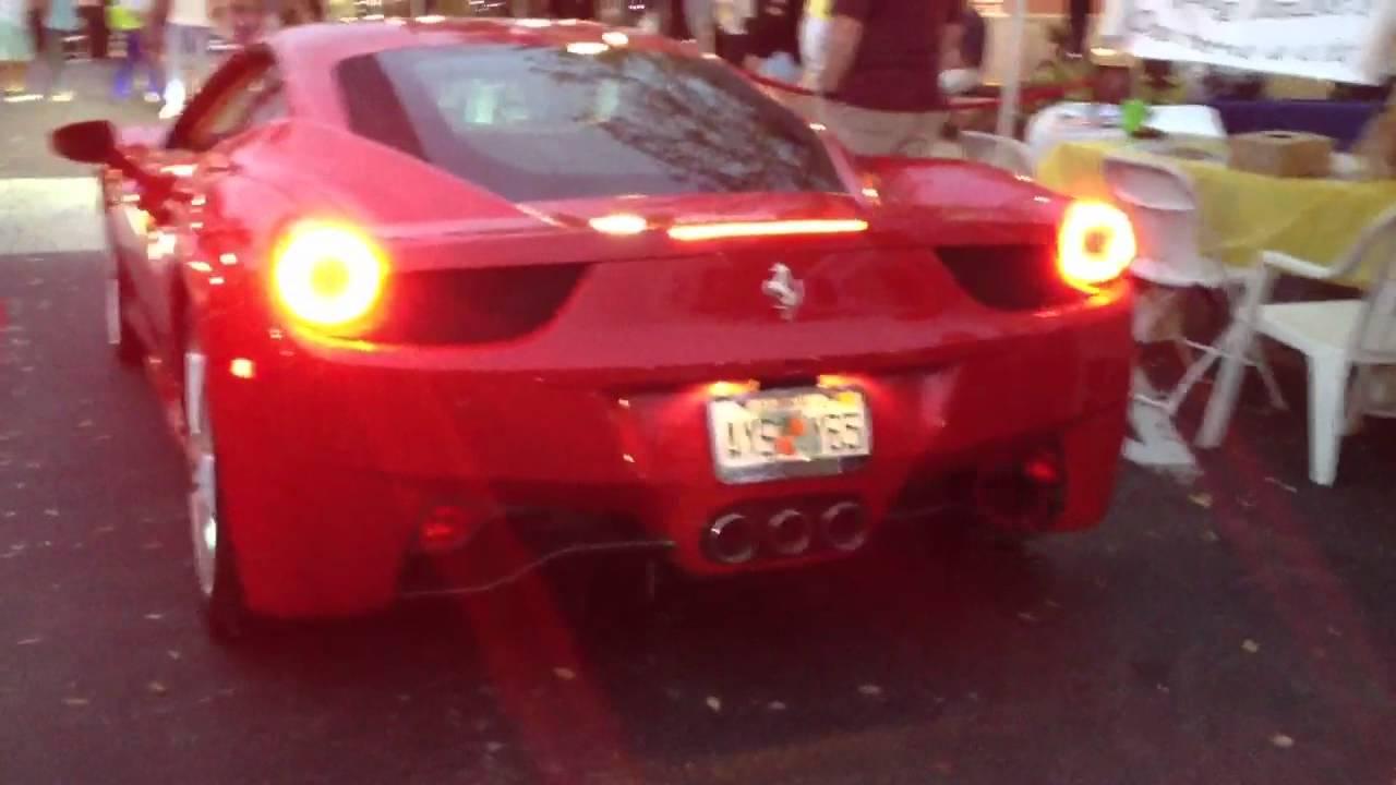 Ferrari 448 Italia Loud start up - YouTube