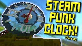 GIANT CLOCK and MORE! (Suspended Mountain Base Part 18) - Scrap Mechanic Gameplay