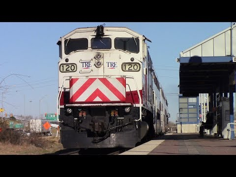 [HD] Railfaning Fort Worth and Richland Hills, TX with lots of great action and more - 1/12/18