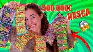 ME GASTO 50€ EN LOTERIA RASCAS Y GANO EL PREMIO!!!! Atrapatusueño