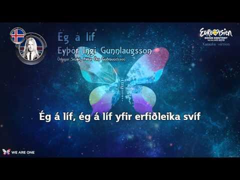 """Eyþór Ingi Gunnlaugsson - """"Ég Á Líf"""" (Iceland) - Karaoke version"""