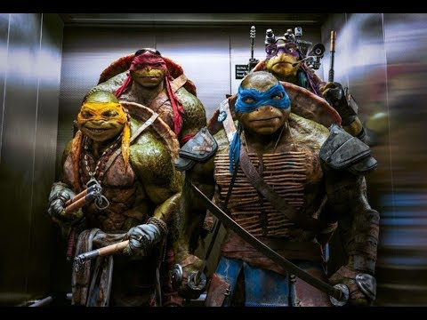 Teenage Mutant Ninja Turtles 2014   Hindi Lift Scene   EXTRA