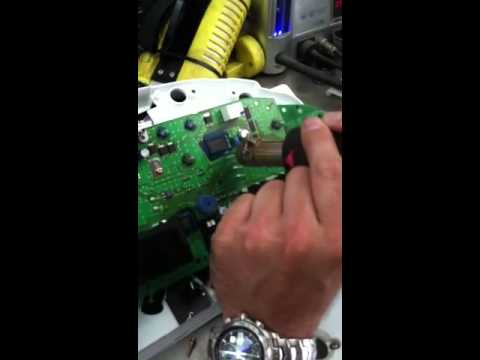V Instrument Cluster Repair