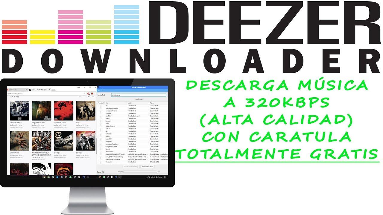 descargar deezer downloader