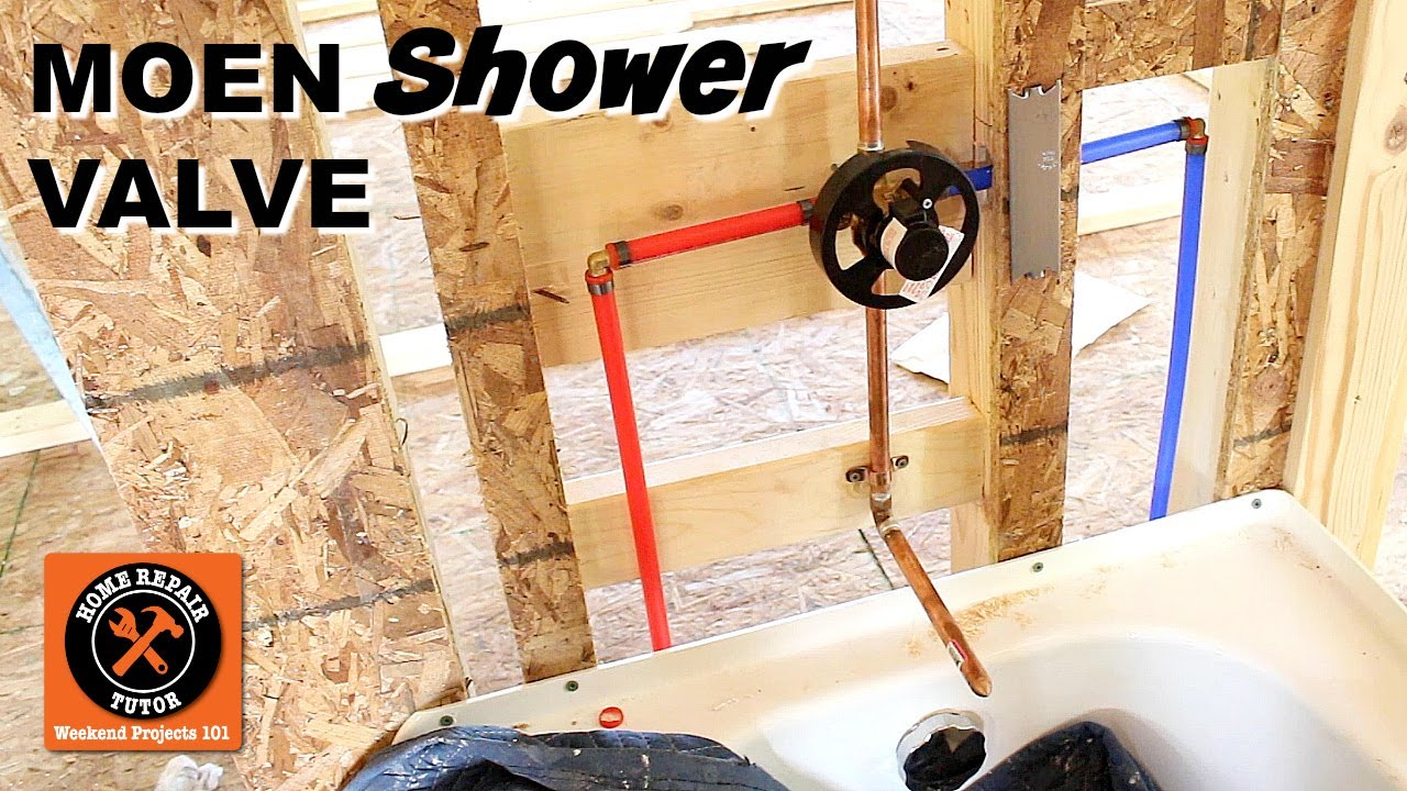 Moen Bathroom Shower Faucets Repair