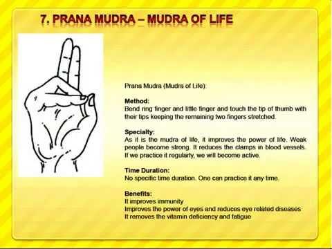 Mudras benefits and postures