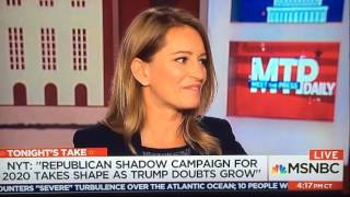Katy Tur MTP Daily Phish reference super cut