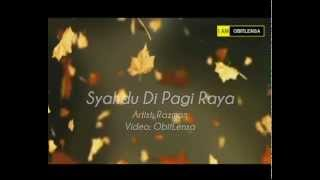 Syahdu Di Pagi Raya with lyrics