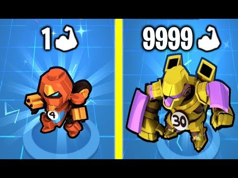 STRONGEST TRANSFORMERS PART 2! Max Level Speed & Robot Car Unlimited Gold Hack In Robot Merge!