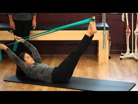 Upside-Down Pilates - Resistance Band - Lesson 56 - Full 30