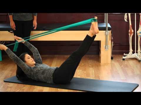 Upside-Down Pilates -