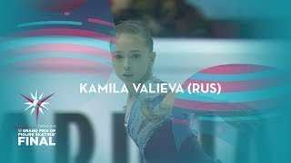 Kamila Valieva (RUS) | Ladies Free Skating | ISU GP Finals 2019 | Turin | #JGPFigure