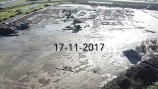 Dronebeelden nieuwe pand Groningen Nefkens & Terwolde - 17 november 2017