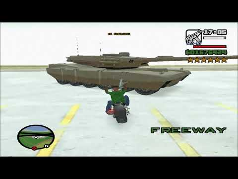 GTA: San Andreas - 6 Star Wanted Level Playthrough - Part 105