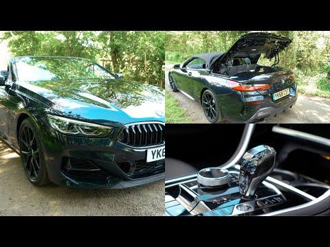 2019 BMW M850i xDrive Convertible Tour First Drive and Car Tech