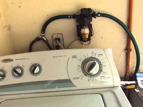 C mo corregir problema de llenado lento en lavarropa youtube for Mampara fija se sale el agua