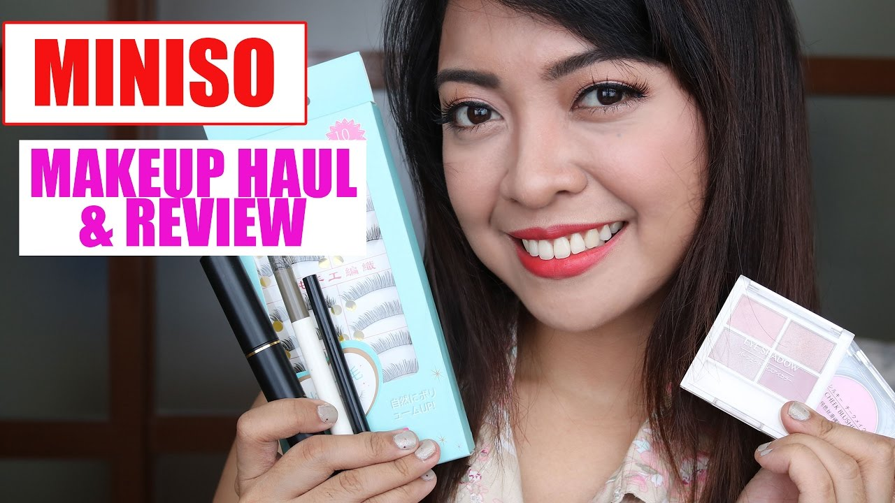 44002120a26 MINISO MAKEUP HAUL AND REVIEW | Gen-zelTV - YouTube