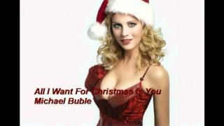 All I Want For Christmas Is You / Michael Buble´ ( lyrics)