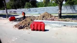 Ремонтные дорожные работы Спаская, Юбилейная г. Кривой Рог