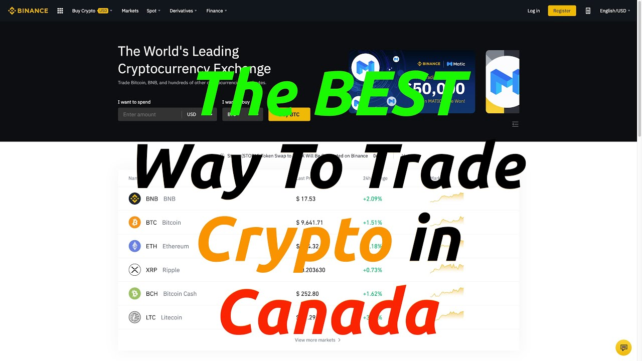 The BEST Way To Trade Crypto in Canada