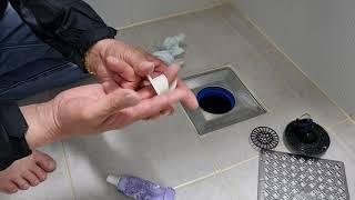 화장실하수구냄새차단 백년트랩설치방법