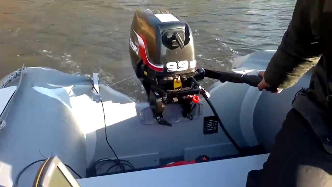 suzuki 9,9 hp test - youtube