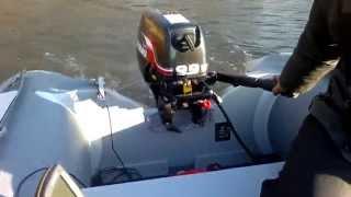 Suzuki 9,9 hp test