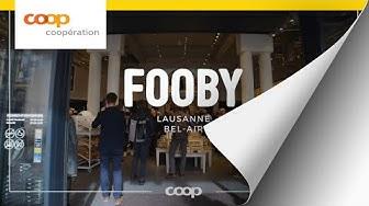 Le nouveau FOOBY-Store à Lausanne