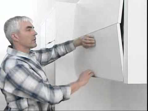 Blum AVENTOS HF for bi-fold lift systems  assembly video.flv