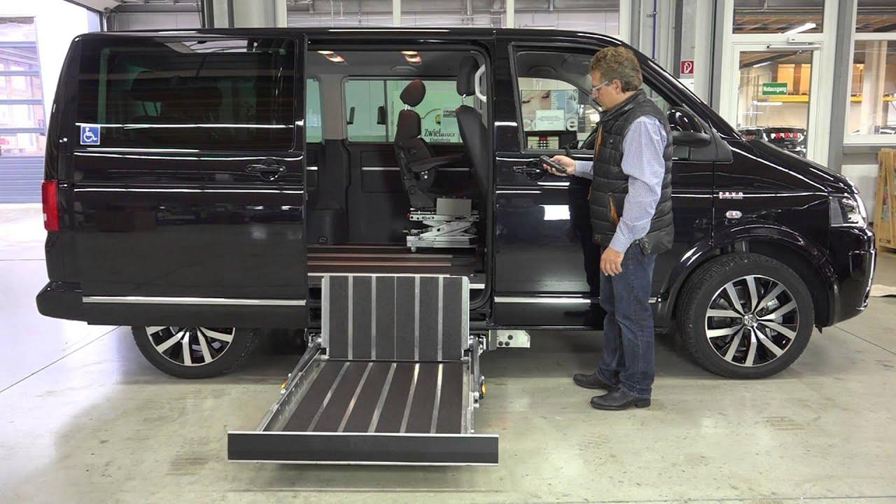 volkswagen t5 umbau made by paravan youtube. Black Bedroom Furniture Sets. Home Design Ideas