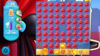 Candy Crush Soda Saga Level 1132 ★★★ Coloring Candy Fun The Highest Score