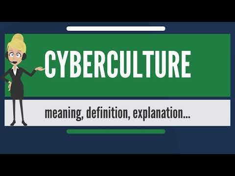 What is CYBERCULTURE? What does CYBERCULTURE mean? CYBERCULTURE meaning, definition & explanation