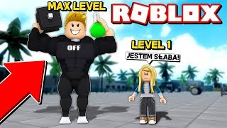 I DRANK A!!! STRENGTH POURE * Unless overdone *   ROBLOX [WEIGHT LIFTING SIMULATOR 3]