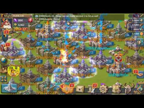 Lords Mobile - DOUBLE RALLY 50m Might Destroyed