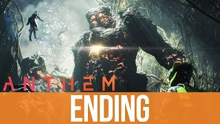 ANTHEM ENDING Gameplay Walkthrough Part 12 - FINAL BOSS / CREDITS